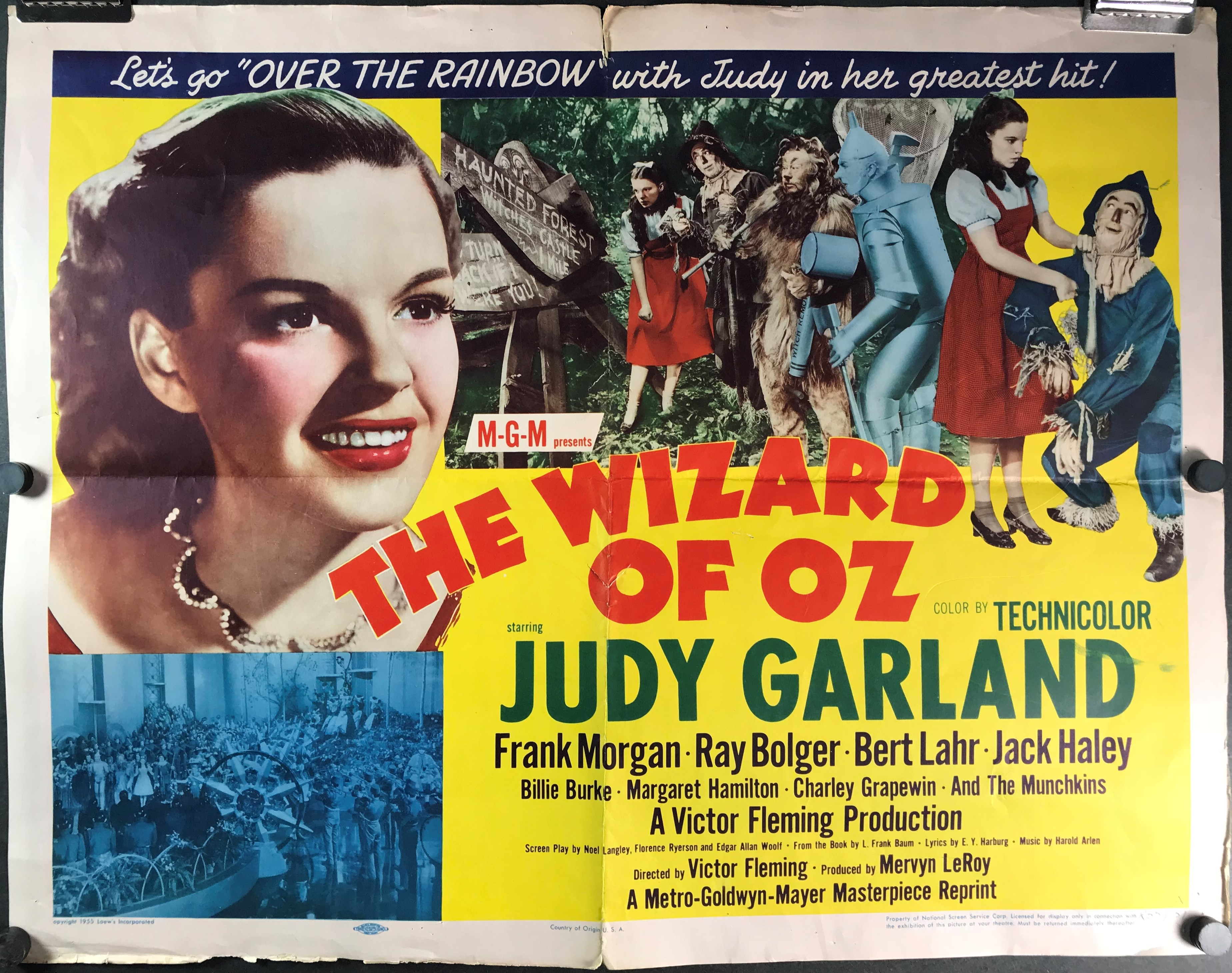 the wizard of oz original 1955 re