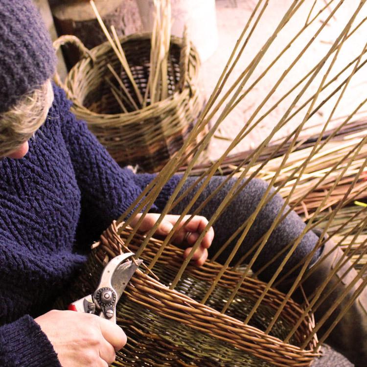 Handmade Birch Basket