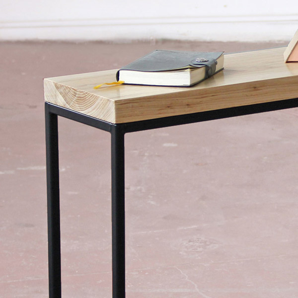 Steel Frame Console Table Tricia Harris