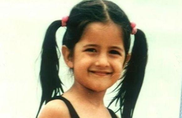 Childhood Photos of Bollywood Celebs-Katrina Kaif