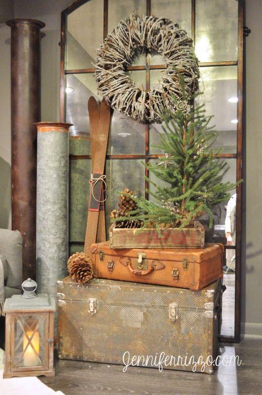 25 Vintage Rustic Christmas Decoration Ideas