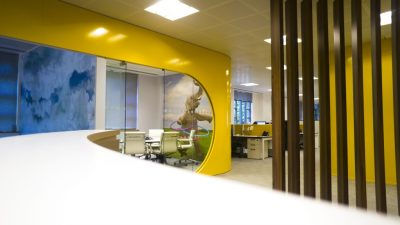 Bedrock Office in Fleet, Hampshire UK – Exceeding Expectations meeting room