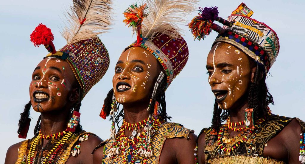 Wodaabe African traditions