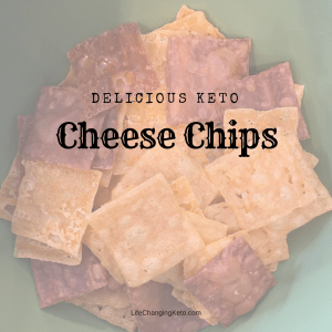 Keto cheese chips