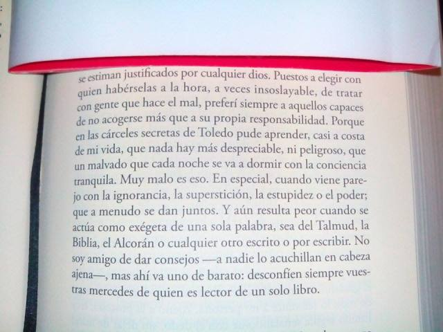 "Extracto Magistral de ""Todo Alatriste"" de Arturo Pérez-Reverte."