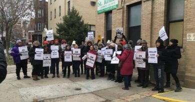 First-ever charter school strike hits Chicago