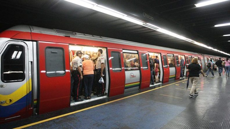 * Metro de Caracas Increases its Rate to Bs.S 1 Starting Next Monday.