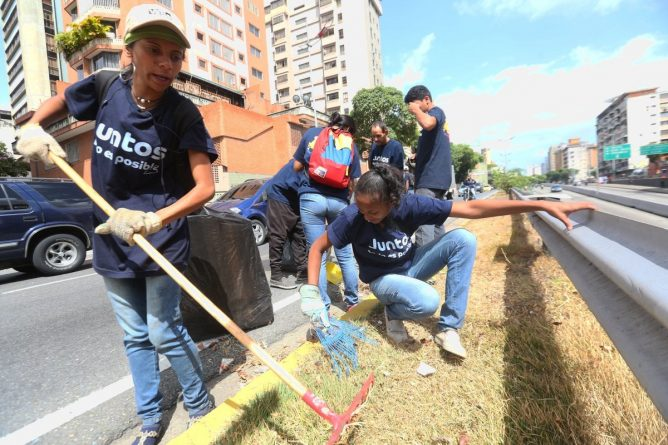 """The Program """"Together Everything is Possible"""" that Rehabilitated the Streets of Caracas will be Extended to 50 Other Cities"""