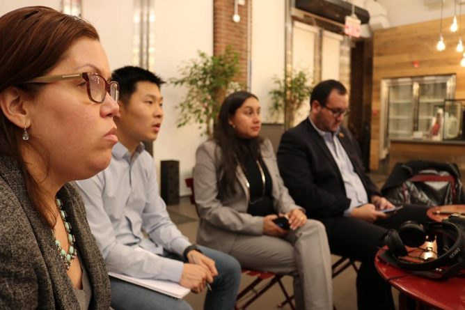 Jorge Arreaza Analyzes with New York Social Movements New Challenges of the Bolivarian Revolution