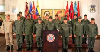 Venezuelan Defense Minister's Response to Trump: We are not mercenaries, we are the Sons of Bolívar, Zamora and Chávez!