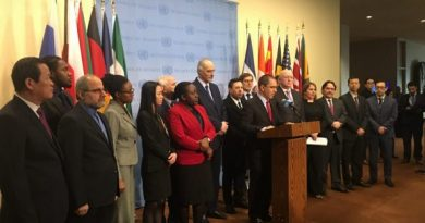 Hands Off Venezuela: Historic Stance at the United Nations against US Imperialism