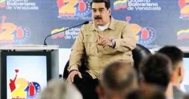 Maduro Asks International Community to End US's Threats of War