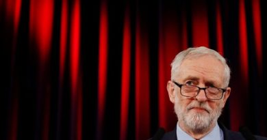 'Dangerous Hero' doesn't add up to a hill of beans: UK's rulers have a fit of the vapors over Corbyn