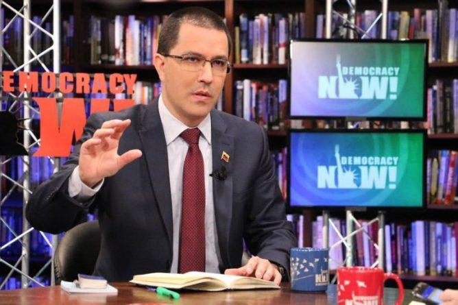 Arreaza: US Wants to Regain Control of the Venezuelan Economy