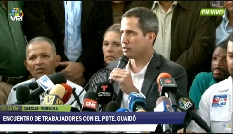 101 on Guaido's Strikes of Public Employees