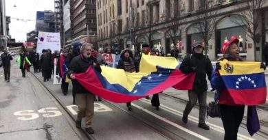 Solidarity With Venezuela Also in Stockholm  (+ Video)