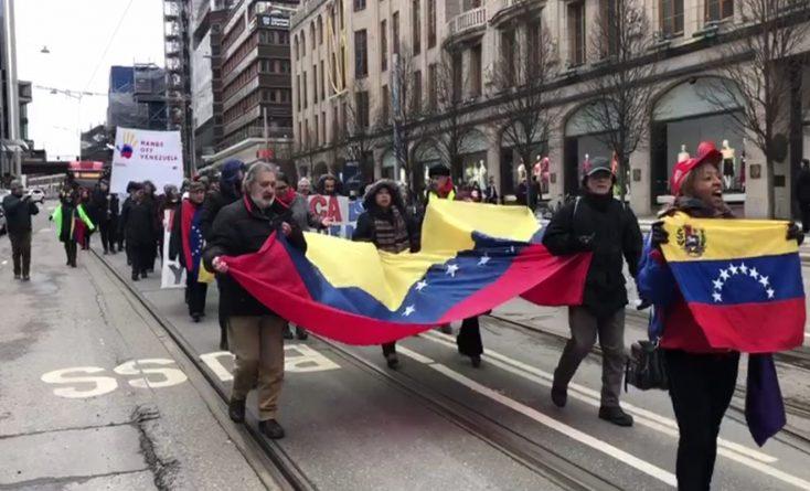 Solidarity With Venezuela Also in Stockholm  (+ Video)