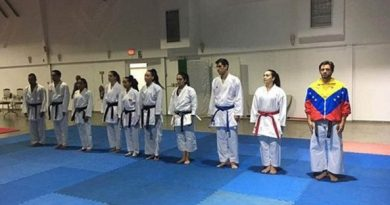 Venezuelan Karate Team Out of Pan-American - Panama did not Approve Visas