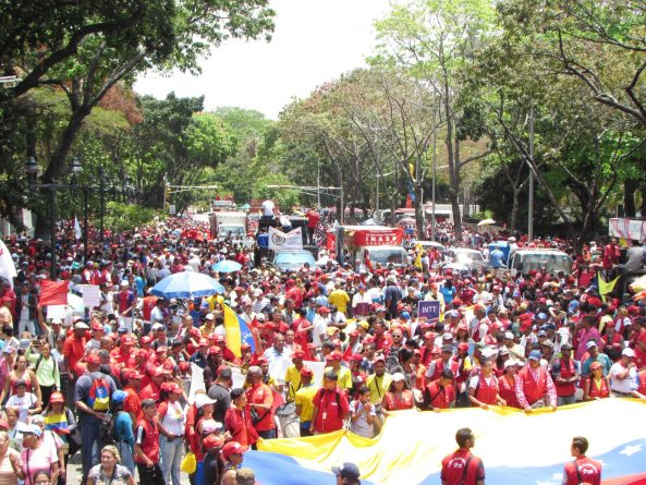 """Some Images From the Chavista Demonstration """"Operation Defense of Freedom"""" (+Videos)"""