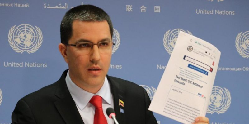 Read the US Department of State Document Mentioned by Chancellor Arreaza in UN