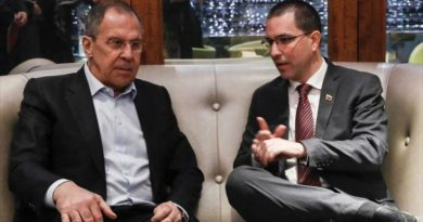 Russia Outraged by US Sanctions Against Foreign Minister Jorge Arreaza