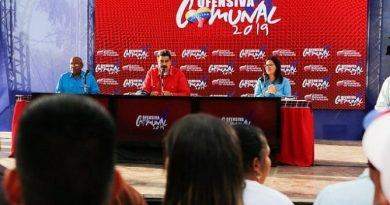 President Maduro Convenes a Discussion of 2019 Communal Offensive Plan for Two Weeks