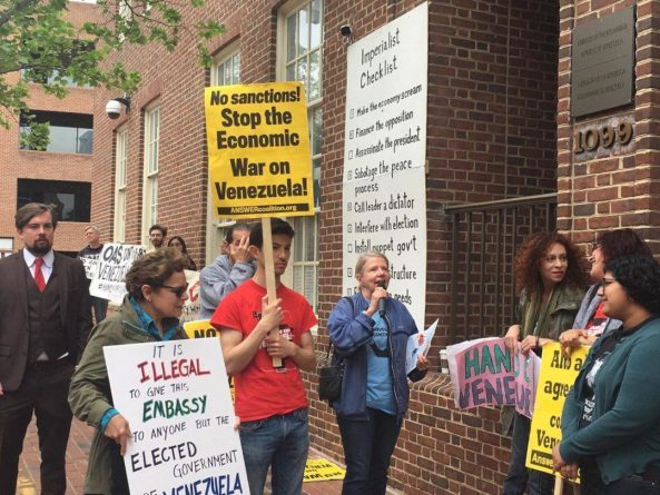 US Activists Defend Venezuelan Sovereignty: Inside Report From an Embassy Protector
