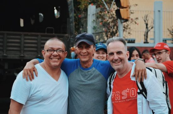 Jesus Rodriguez-Espinoza, Dozhtor Zurlent and Tom Burke
