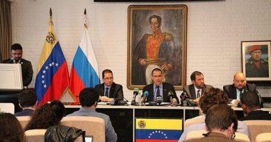 Arreaza from Moscow: Venezuela Creating Alternative Routes with Russia & China Around Economic Blockade