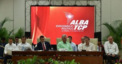 Alba-TCP Expresses its Support to President Maduro and the People of Venezuela