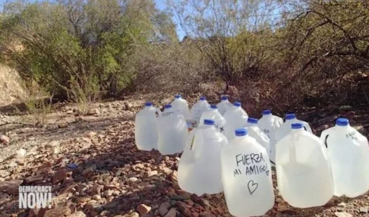 """""""Criminalizing Compassion"""": Trial Begins for Humanitarian Aid (20 Years in Prison for Giving Water to Migrants}"""