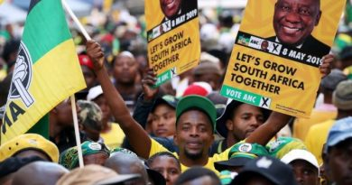 South Africa's ANC Celebrates Election Win with Street Party