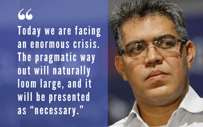 Defending Chavez's Project Today: A Conversation with Elias Jaua