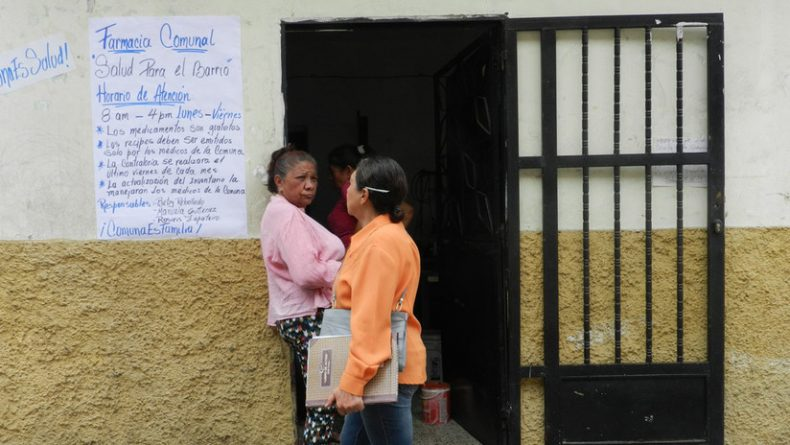 Communal Pharmacy: The People's Organization of Medicinal Resources in Venezuela