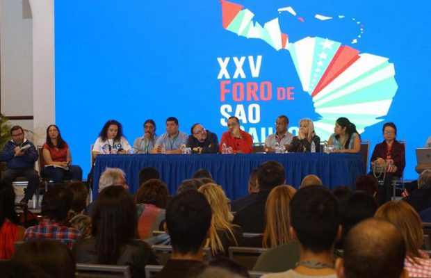 The XXV Edition of the São Paulo Forum Installed in Caracas (+ Images)