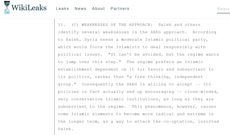 Yassin-al-Haj-Saleh-WikiLeaks-cable-Islamists.png
