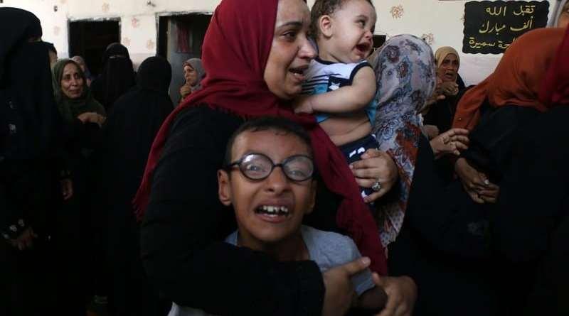 Israel Pushing Palestinians to Leave Gaza