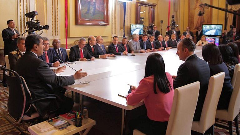 President Maduro Appoints 7 New Ministers