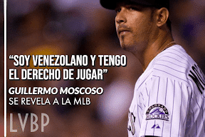 """I am Venezuelan and I Have the Right to Play"": Guillermo Moscoso to the MLB (US Blockade)"