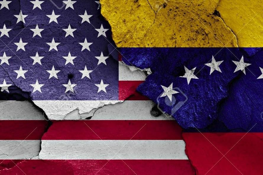 Американская террористическая война против Венесуэлы.