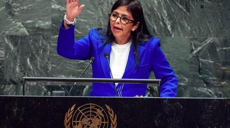 Delcy Rodriguez at the UN: Venezuela is Decent and Indivisible