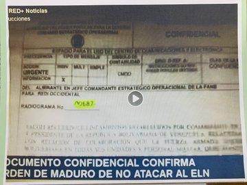 Fake Venezuelan memo posted by Semana