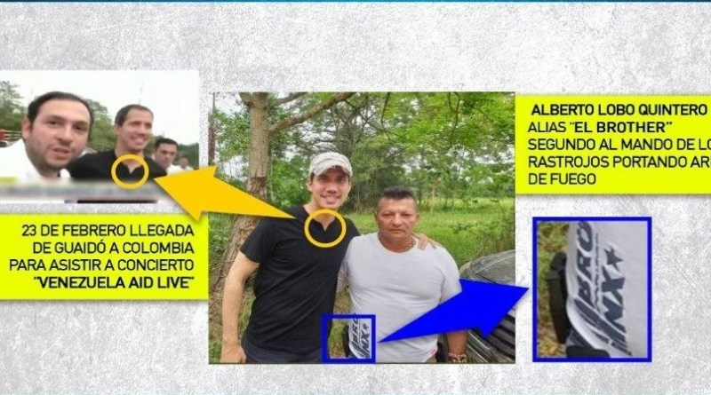 Venezuela Uncovers New Elements Linking Guaido with Los Rastrojos (+ Images)