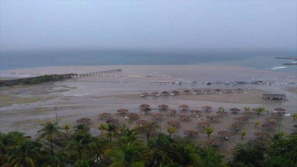 Tropical Storm Karen Affecting Venezuela and Trinidad & Tobago