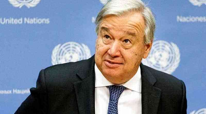 UN's Guterres Wants to speak with Representatives of Venezuela and Colombia at the UN Session