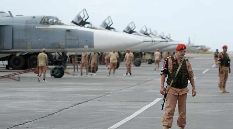 Russia's Hmeymim Airbase in Syria Strikes Over 100 Terrorist Drones Over Past Two Years