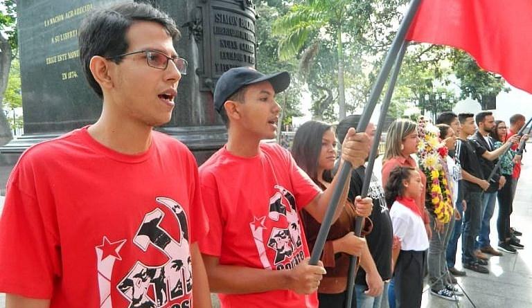 Communist Youth of Venezuela Celebrates 72 years of Struggle