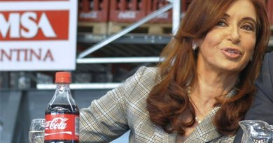 "Argentina's Cristina Fernández de Kirchner: ""You Have to be Terrible to Send Coca Cola into Bankruptcy"""