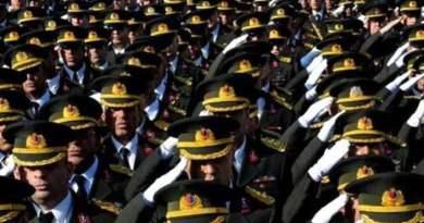 5 Turkish Generals Stationed in Northern Syria Resign