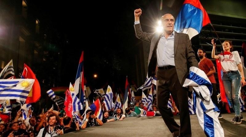 Frente Amplio's Martinez Leading Uruguay Election - Second Round Needed (Reuters)